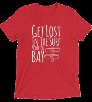 Scorpion Bay Surf Spot Tri-Blend T-shirt