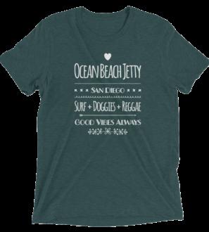 Ocean-Beach-Jetty Tri-Blend T-Shirt