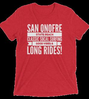 San Onofre State Beach Classic tshirt