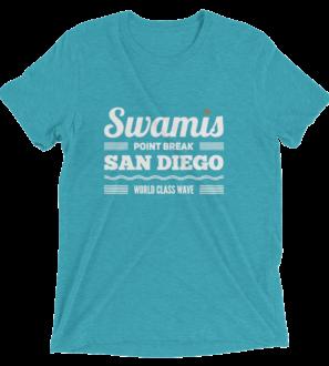 Swamis Point Break Surf tshirt